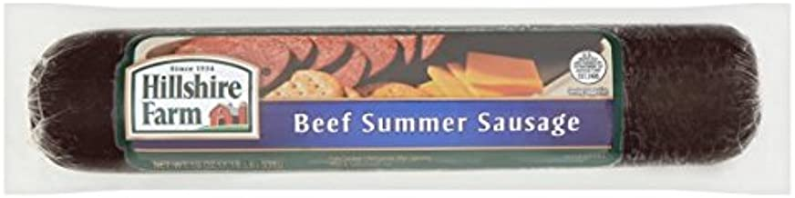 Hillshire Farm Beef Summer Sausage, 19 oz. (1.18 lb), 2 Pack