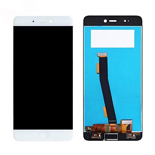 KJGHJ Pantalla LCD Fit For Xiaomi Mi5S Pantalla LCD de Repuesto de Pantalla táctil LCD de visualización Probado reemplazo de la Pantalla del teléfono LCDs 5.15inch Teléfono (Color : White no Frame)