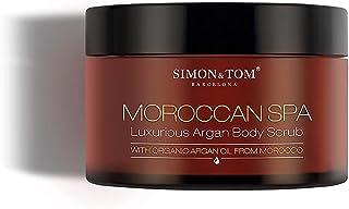 MOROCCAN SPA Body Scrub – peeling do ciała – z olejkiem arganowym, migdałami i cząstkami skorupy arganowej – produkt wegań...