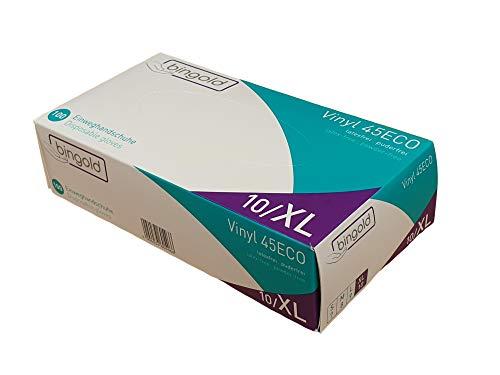 Einweghandschuhe Vinyl Gr. M latexfrei Puderfrei Einmalhandschuhe 100 TER Box