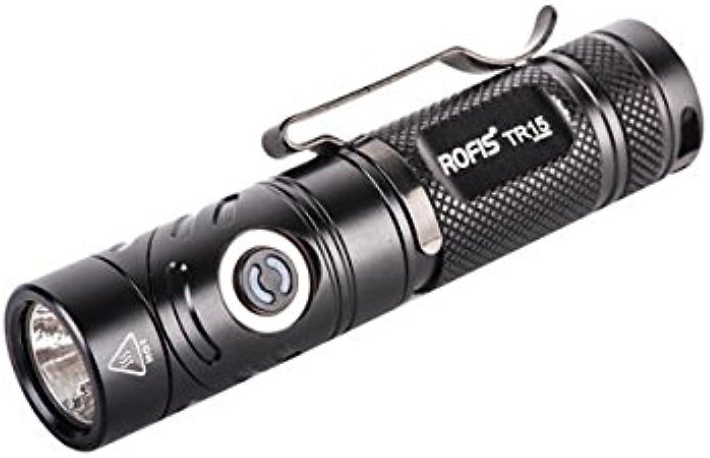 Bazaar ROFIS TR15 Xp-l Hallo V3 700LM 14500 EDC LED Taschenlampe