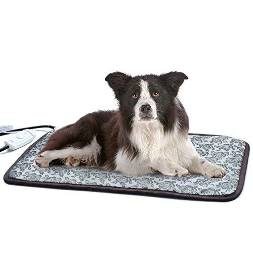 HYDGOOHO - Almohadilla calefactora eléctrica para perros pequeños y mascotas, para uso en interiores