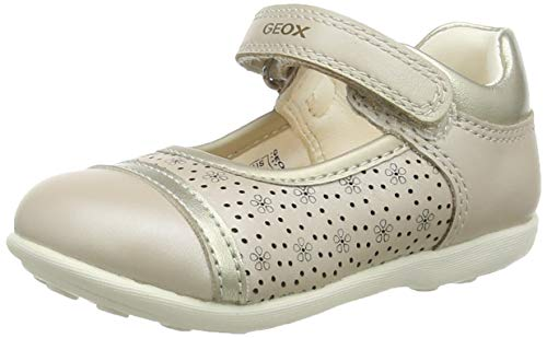 Geox B Jodie A, Ballerines Garçon Fille, Beige (Beige C5000), 25 EU