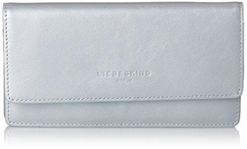 Liebeskind Berlin Damen Slam7w Pearl Geldbörse, Silber (Angel Silver), 3x10x19 cm