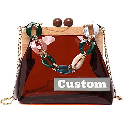 LEISUREBACKPACK++ Borsa personalizzata per le donne Borsa a tracolla Clutch Messenger Crossbody Borsa a tracolla a tracolla per satchel , Facilitate your travel ( Color : Kase , Taglia : One size )