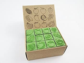 Best fruit rubber stamps Reviews