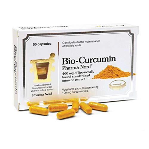 Capsule Bio Curcumina di Pharma Nord - Estratto di curcuma standardizzato Liposomally Legato - 50 tappi vegani
