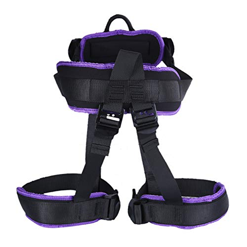 GYFHMY Heavy Duty Bungee Dance Seat Belt Set, 176Lbs Yoga Rope Resistance Workout Gravity Training Tool, Suspension Fitness Anti-Gravity Harness for Home Use