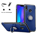 Labanema Huawei Nova 3i / P Smart+ Plus Coque, 360 Degrés Rotation Ring Holder Stand Protection...