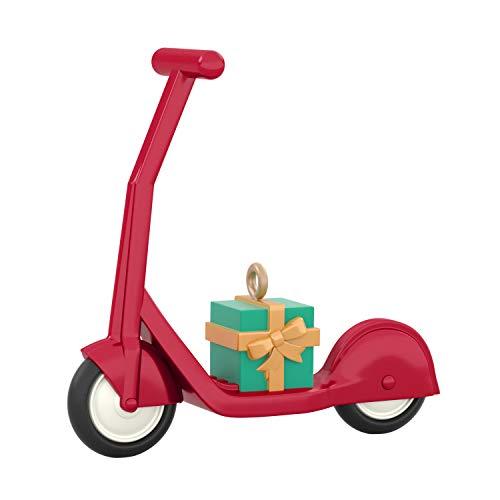 "Hallmark Keepsake Christmas Ornament 2020, Mini Small Scooter, 0.97"""