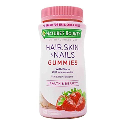 Hair, Skin & Nails With Biotin 80 gummies