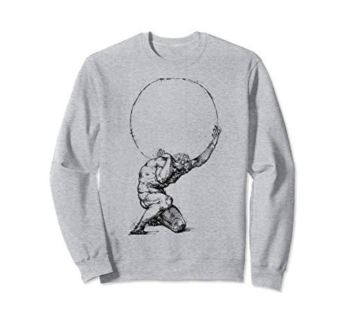 Atlas Greek mythology Greece Greek Gods and Heroes Sweatshirt
