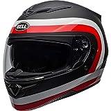 Casque Moto Intégral BELL HELMETS RS-2 Crave Noir Blanc Rouge - Taille M