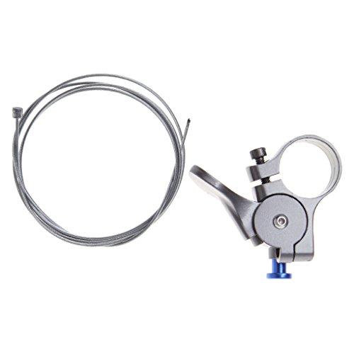 Ranuw Fahrrad Fernbedienung Lock Hebel 22,2mm Lenker Bike vorne Spring Öl Gabel Controller