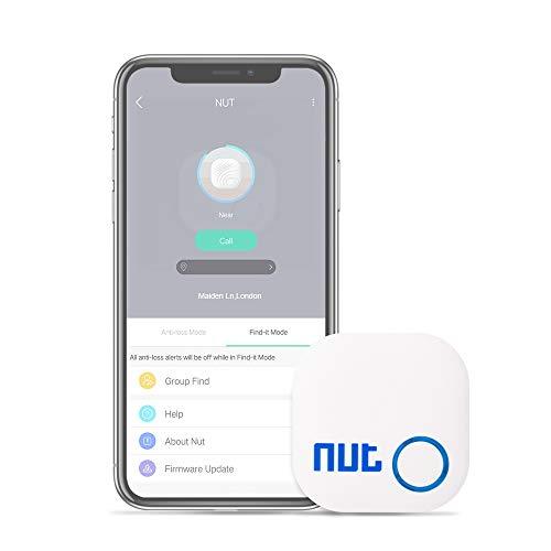 Localizador de llaves, compatible con iOS/Android, Bluetooth, rastreador GPS con alarma bidireccional, modo silencioso, para teléfono, mascotas, llavero, cartera, etc.