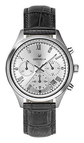 Orphelia Damen Chronograph Quarz Uhr mit Leder Armband OR31802