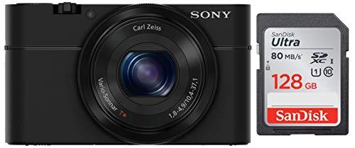 Sony DSC-RX100 Cybershot 20.2MP Point & Shoot Digital Camera...