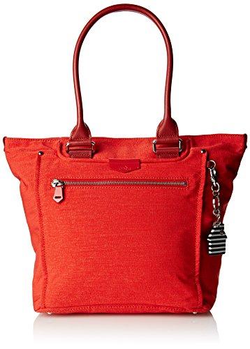 Kipling Damen Life Saver Sporttasche, New Red L, 45 cm
