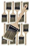 Pro Grade - Paint Brushes - 12Ea 3' Angle Brushes