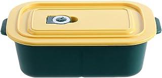 FEIGAO Lunch Box,Grande Capacité 1300ml,PP De Qualité Alimentaire Bento Box,Rangement Et Organisation De Cuisine(24x14.5x...