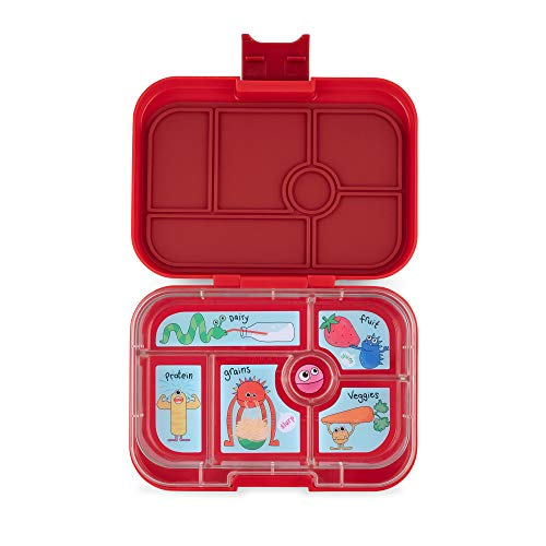 YUMBOX Original Leakproof Bento Lunch Box for Kids Wow Red
