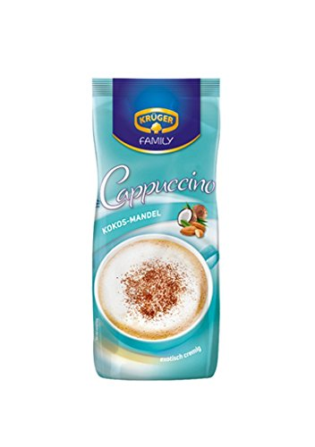 KRÜGER FAMILIE Cappuccino Mandel mit Kokosnuss 500 g