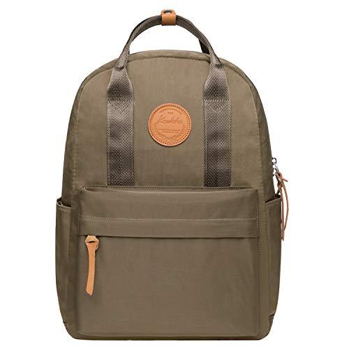 KAUKKO Unisex-Kinder Schulrucksack mit Laptopfach für 13 Zoll Laptop, 29 * 13 * 40 cm 15...