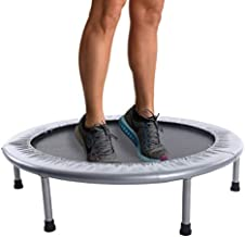 Stamina 36-Inch Folding Trampoline | Quiet and Safe Bounce | Access To Free Online Workouts Included | Supports Up To 250 Pounds