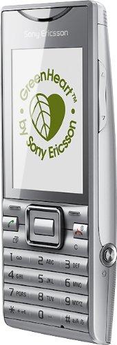 Sony Ericsson Elm Handy (UMTS, aGPS, Bluetooth, WiFi, 5MP) Silver
