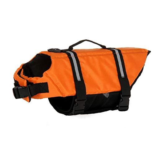 AMOYER Pet Schwimmweste Jacke Camouflage Hundeschwimmweste Mit Verstellbaren Schnallen Hund Sicherheit Rettungs Mantel Für Schwimmen Bootfahren Jagd
