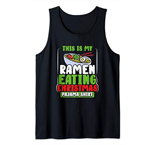 Kids Christmas Ramen Pajamas Gift Girls Boys Women Pajama Tank Top
