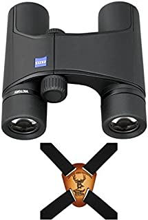 Zeiss Victory Pocket Binocular 8x25 with T Multi-layer Coating Black, with Harness Strap