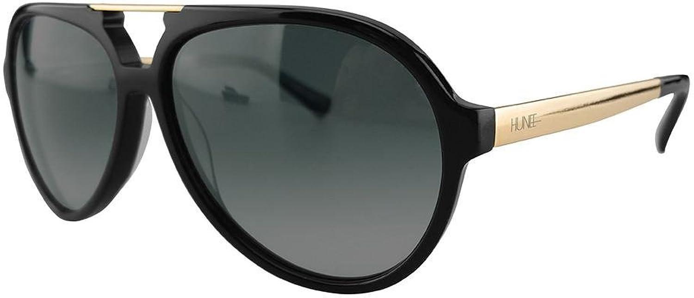 Black and gold Unisex Aviators (Unisex)