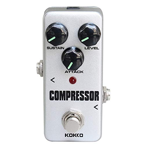 KOKKO Compressor Guitar Pedal, Mini Effect Processor Fully Analog Circuit...