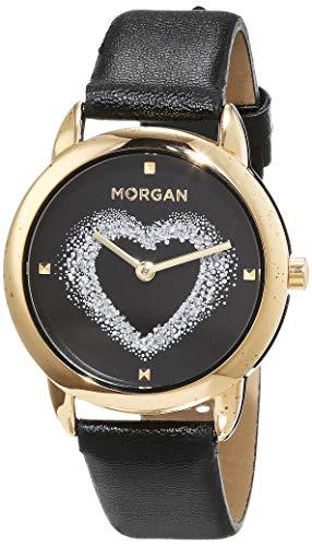 Morgan de Toi Reloj de Cuarzo Woman M1132Bg Negro 40 mm