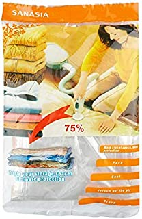 Clothes Compression Storage Bags Hand Rolling Clothing Plastic Vacuum Packing Sacks Travel Space Saver Bags for Luggage