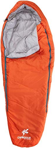 Kounga Sleeping Bag Roraima 0-5 Jr Sac de Couchage Enfant, Orange/Gris, Grand