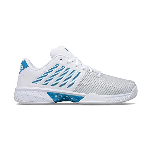 K-Swiss Express Light 2, Zapatos de Tenis Hombre, Blanco, 44 EU