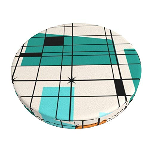 Round Bar Stools Cover,Gitter Und Starbursts,Stretch Chair Seat Bar Stool Cover Seat Cushion Slipcovers Chair Cushion Cover Round Lift Chair Stool