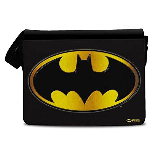 Officiellement Sous Licence Batman Logo Sac bandouliere, Messenger Sac