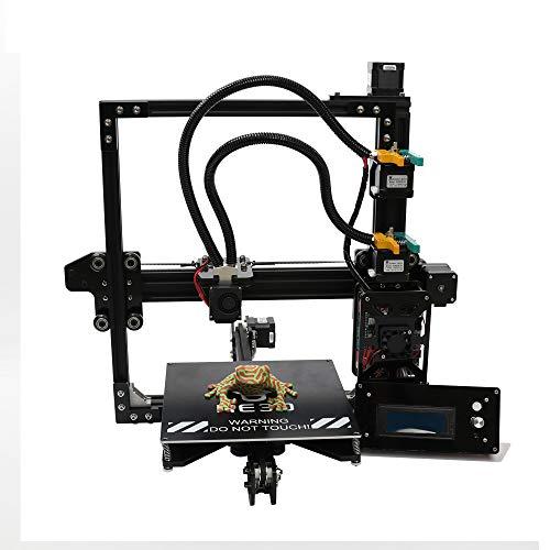 HE3D New upgrade 2 en 1 out DIY Kit de impresora 3D dual extrusoras de metal completo Impresora Multicolor