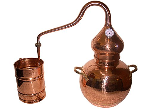 5 Gallon Copper Alembic Still for whiskey, moonshine, essential oils, etc.