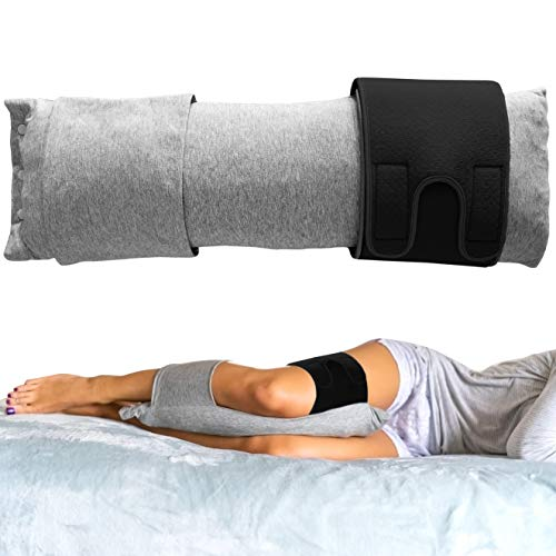 New & Innovative Wearable Knee Pillow with Adjustable Straps, Leg Pillow & Knee Pillow for Side...