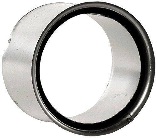Bertrams 557116 Wandfutter doppelt blank für 2mm Ofenrohre & Bögen, Silber, Durchmesser 150mm