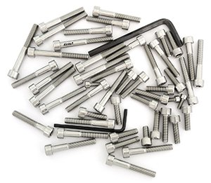 Stainless Steel Allen Bolt Set - Compatible with Honda VT700C Shadow - 1984-1987 - 49 Bolts