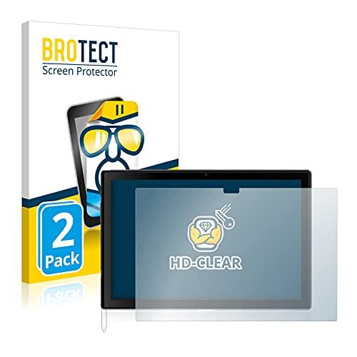 brotect Pellicola Protettiva Compatibile con Blackview Tab 8 (in Formato Orizzontale) Pellicola Trasparente (2 Pezzi) Anti-Impronte