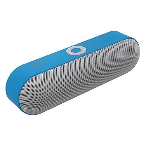 MERIGLARE NBY-18 Altavoces Bluetooth Altavoces Inalámbricos Portátiles Bluetooth, TF - Azul