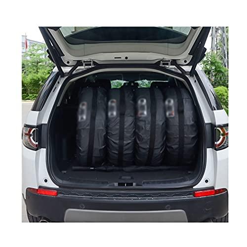 Cubierta de neumático de repuesto 4 unids / lote Coche de recambio de neumáticos Caja de neumáticos Poliéster Auto Wheel Neumáticos Bolsas de almacenamiento Accesorios de neumáticos Vehículo Protector