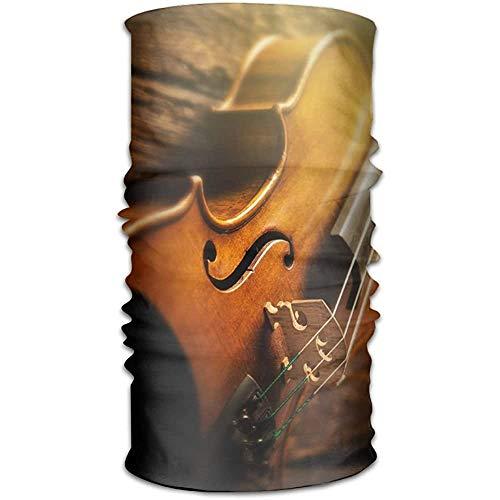 KDU Fashion 16-in-1 sweatbands, stradivarius viool sjaal hoofdband, volwassenen hoofdband voor mountainlopen klimmen