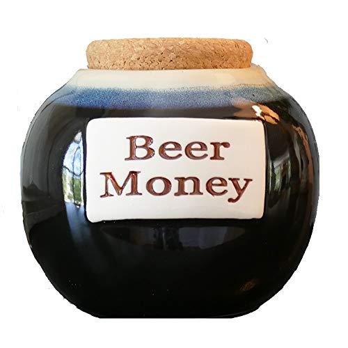 Beer Money Funny Money Bank; Ceramic Jar...